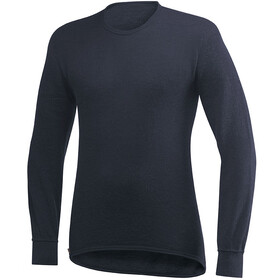 Woolpower 200 Crewneck Heren, dark navy